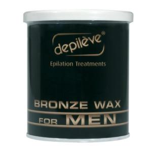 Cire bronze Depilève pour homme