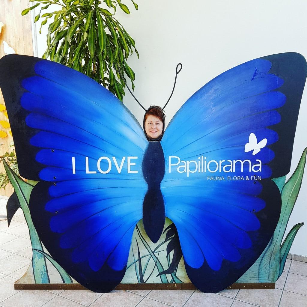 I love Papiliorama