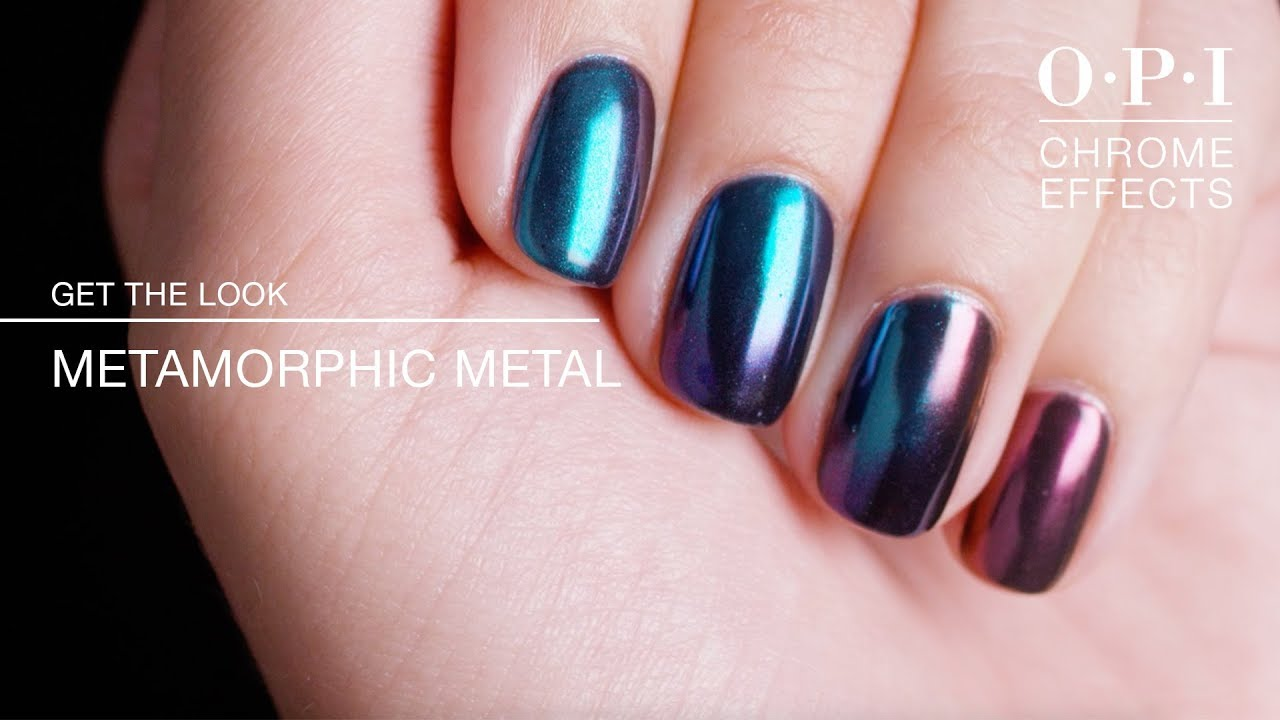 Vernis OPI Chrome Effects